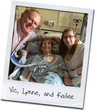 EvoSmile's former senior hygienist Lynne and her husband Vic and daughter Kailee
