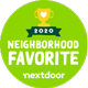 Nextdoor Neighborhood Favorite 2020 logo