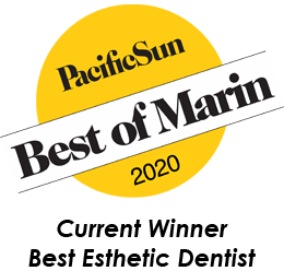Pacific Sun Best of Marin 2019 decal